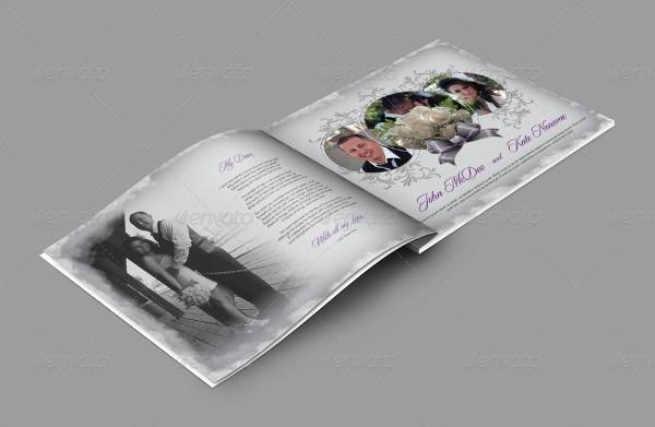 wedding album template psd