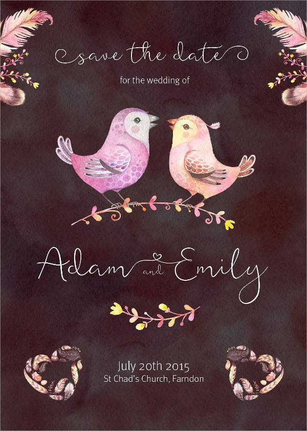 wedding card calligraphy font