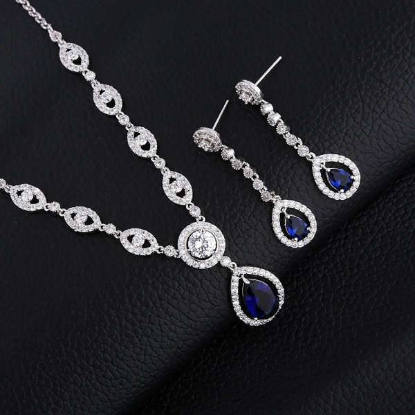 wedding diamond jewelry set