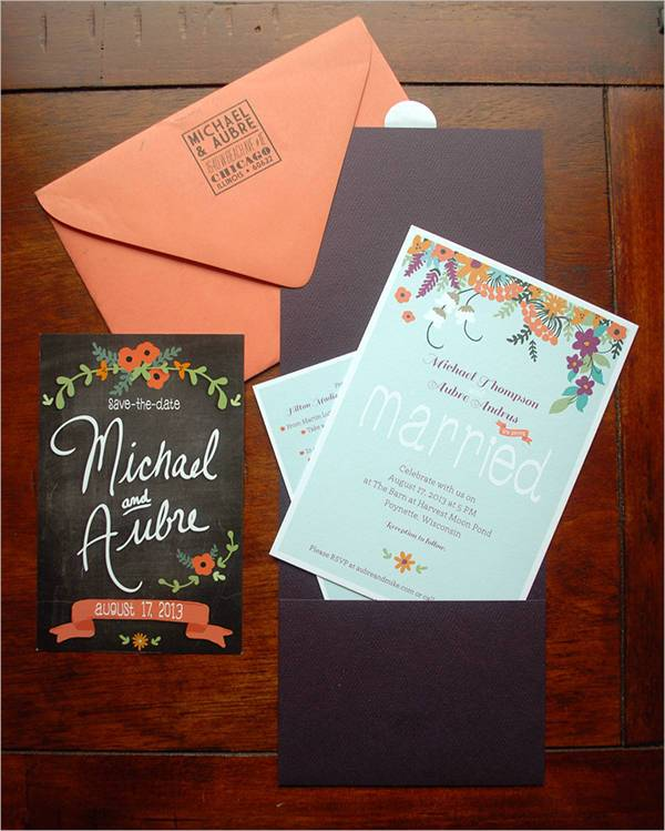 Wedding Event Party Invitation