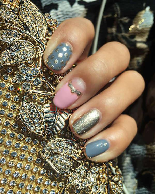 wedding guest nail design idea