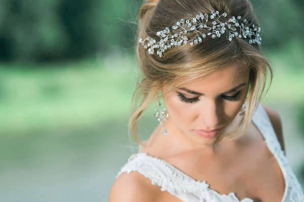 wedding hair jewelry set