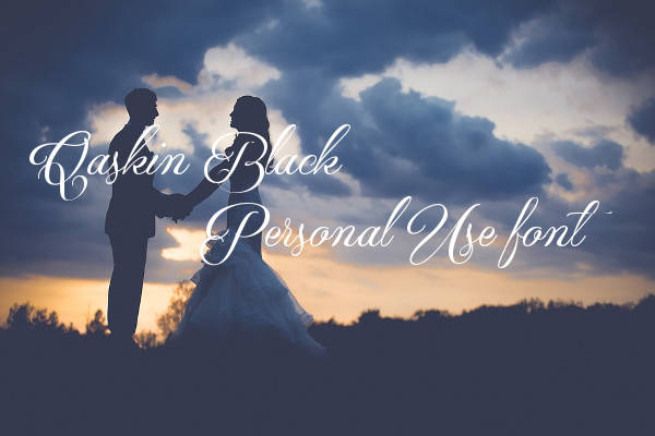 Wedding Invitation Calligraphy Font