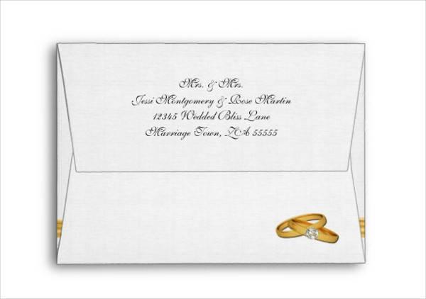 Wedding Invitation Card Envelope