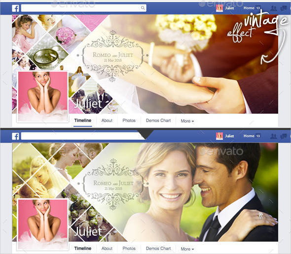 wedding photo album facebook cover2