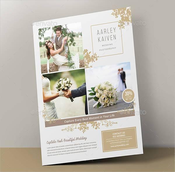 Wedding Photography Flyer PSD