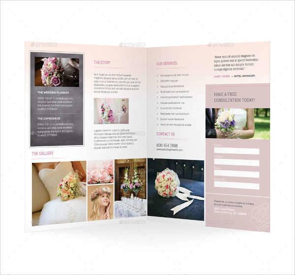 10 Florist Brochure