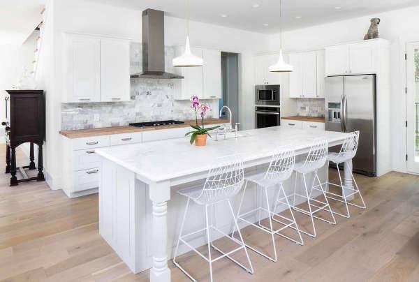 White Farmhouse Kitchen Design