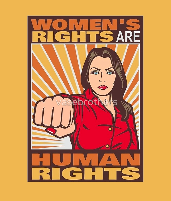 women's rights greeting card1