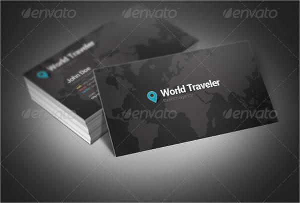 World Traveler Business Card