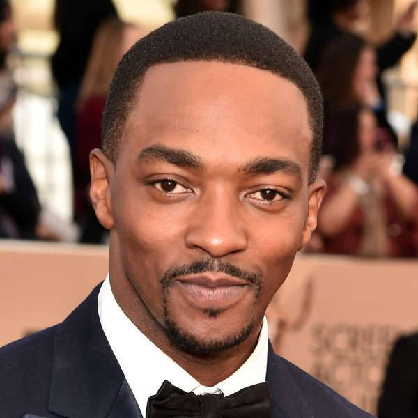 Anthony mackie Black men Fade hairstyles