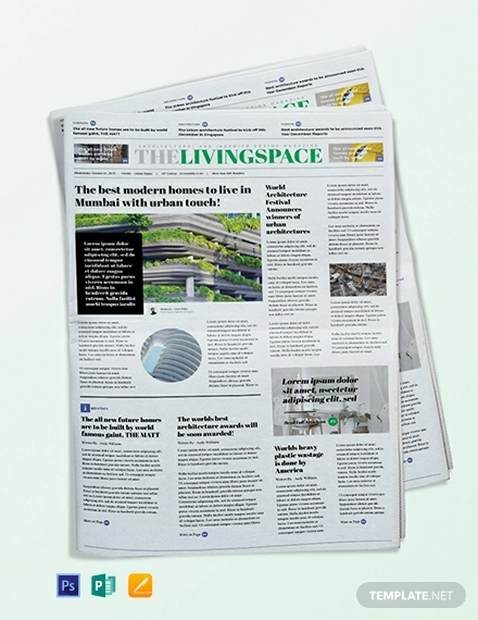interior design newspaper