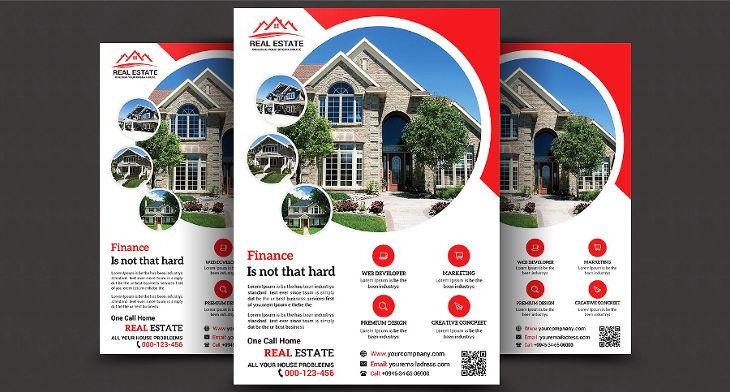 10 real estate sale flyers design trends premium psd vector