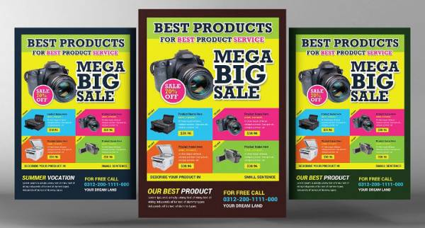 19 Product Flyers Printable PSD AI Vector EPS Format Download