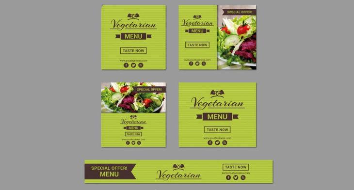 Restaurant banner designs design trends premium