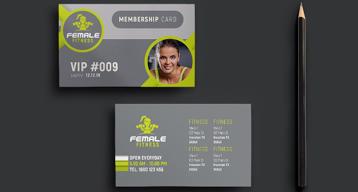 15+ Membership Card Designs | Design Trends - Premium PSD, Vector ...