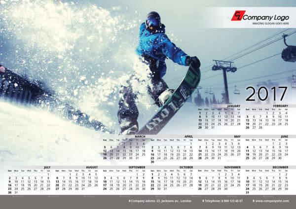 2017 Poster Calendar