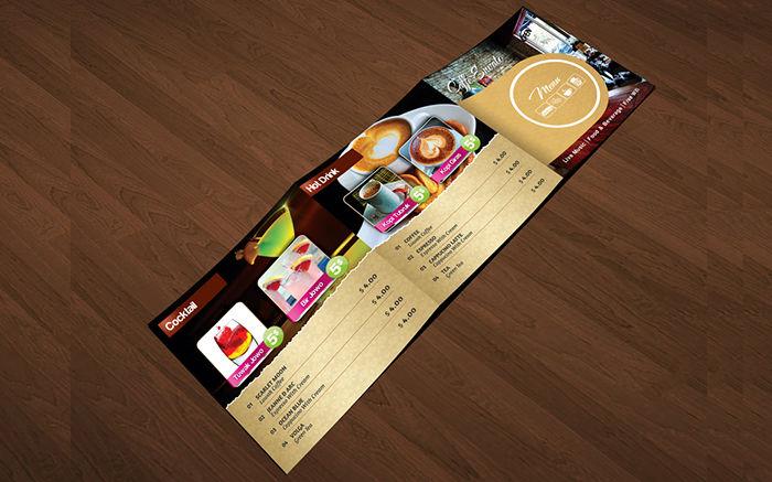3 Fold Square Cafe Restaurant Menu