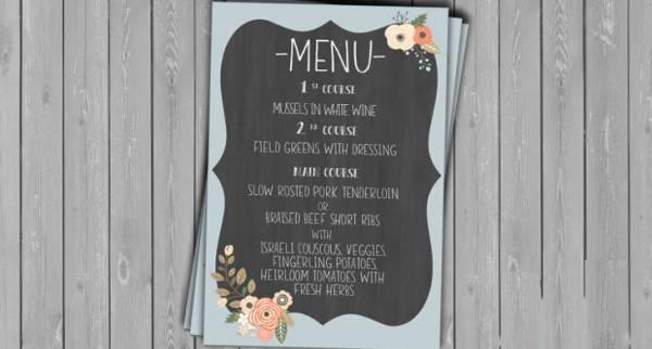 30 chalkboard menu designs design trends premium psd vector