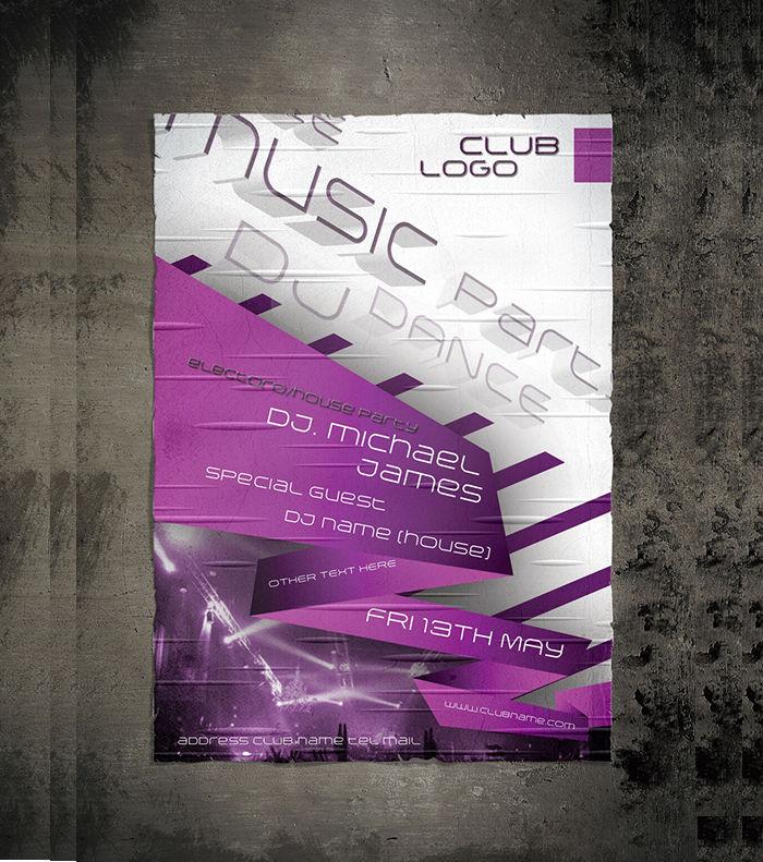 3d party flyer
