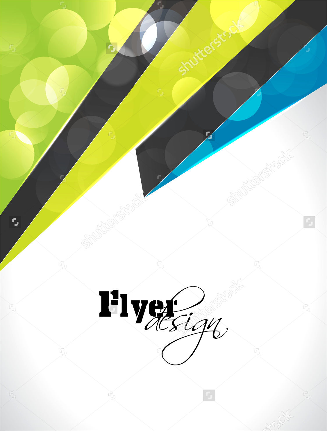 3d shape flyer