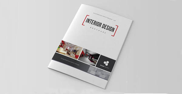 a4 interior design brochure catalog1