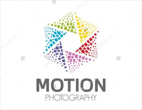 Abstract Colorful Photography Logo