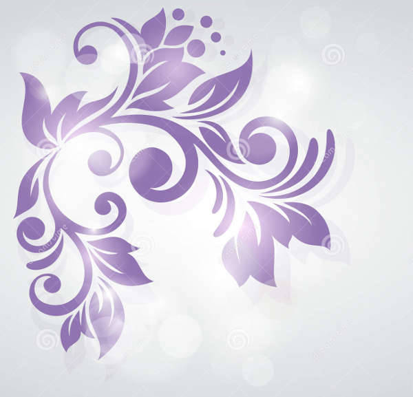 abstract floral design illustration