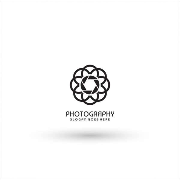 Abstract Photography Logo Template