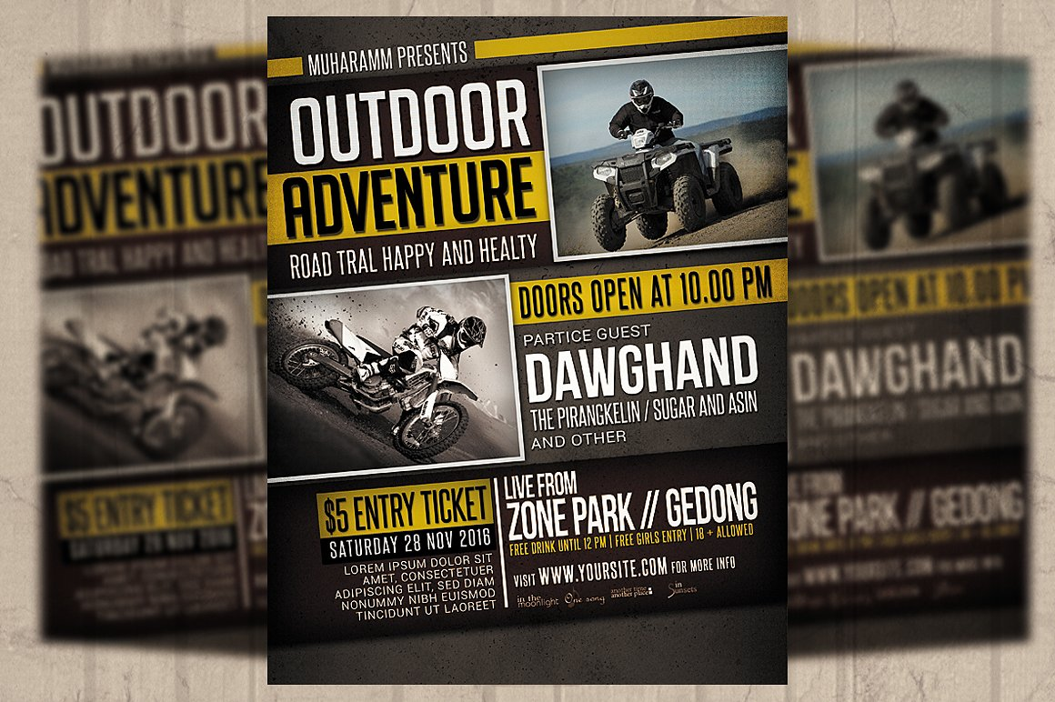 24  sports event flyers templates