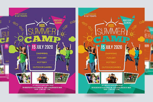 Adventure Summer Camp Flyer