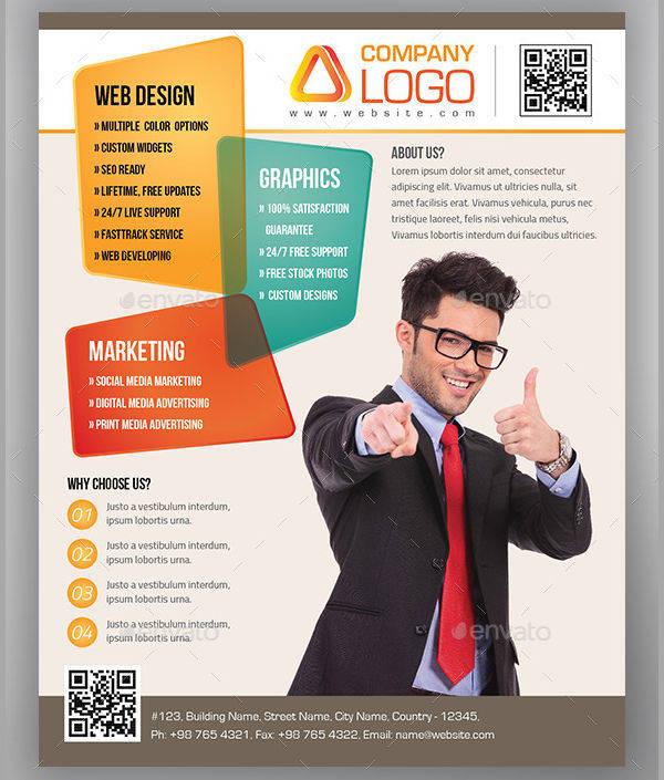 Advertising Agency Flyer