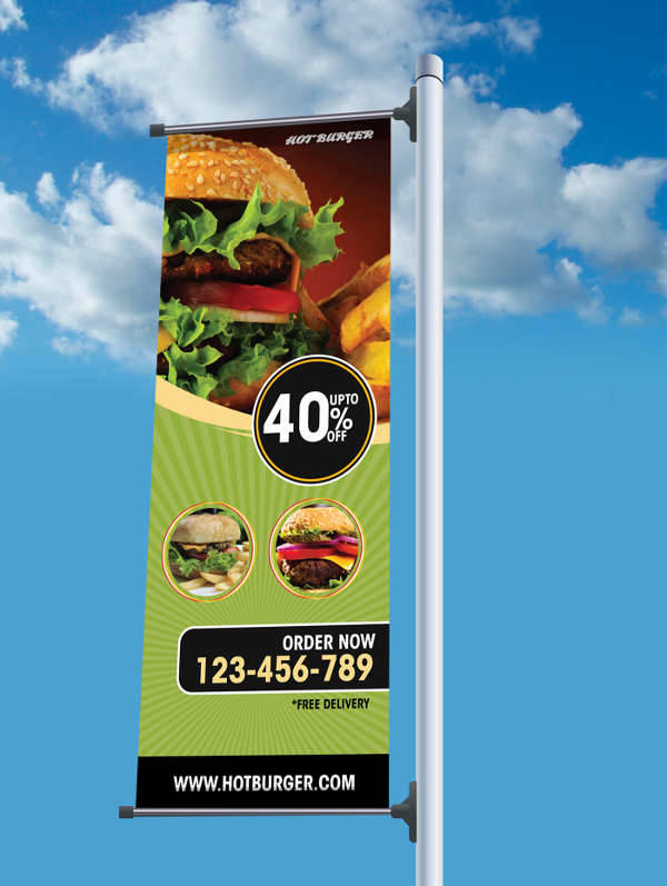 advertising outdoor billboard banner