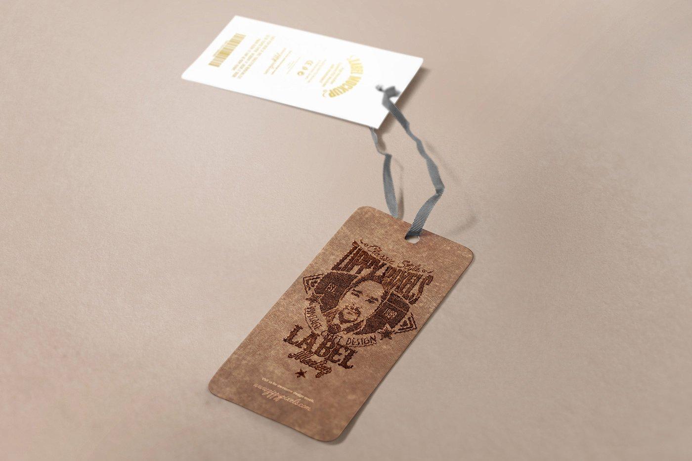 apparel hang tag