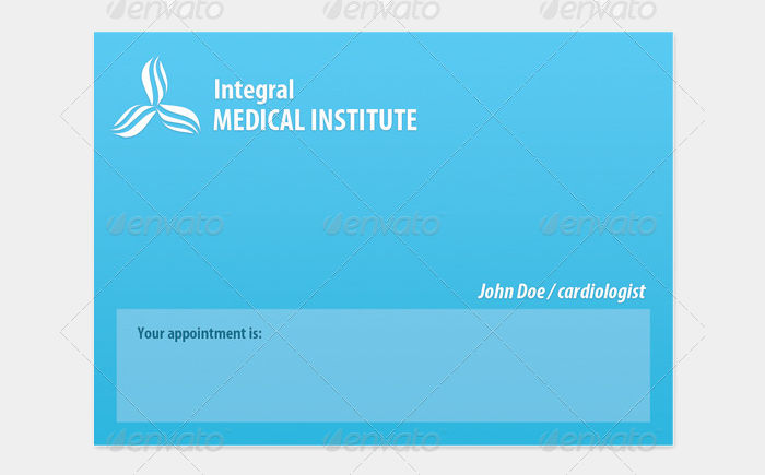 appointment medical doctor cards