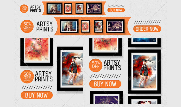 Art & Photography Web Banner