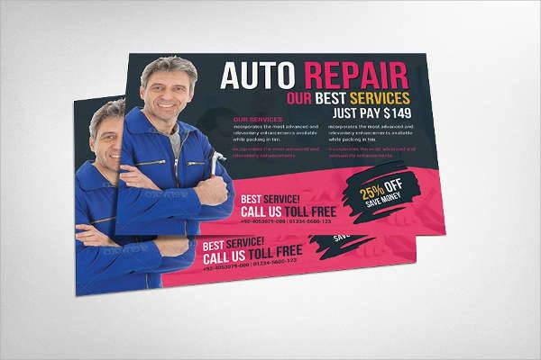 Auto Repair Service Flyer