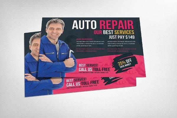 Auto Services Flyer