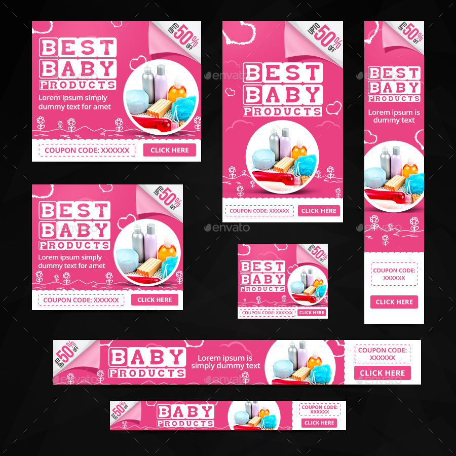 Baby Product Banner