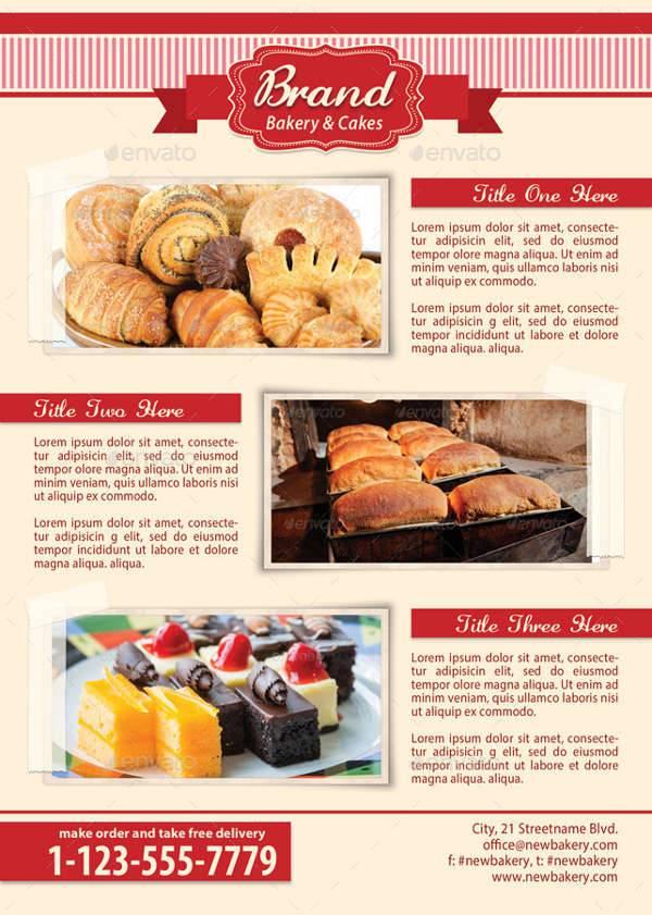 Bakery Food Flyer