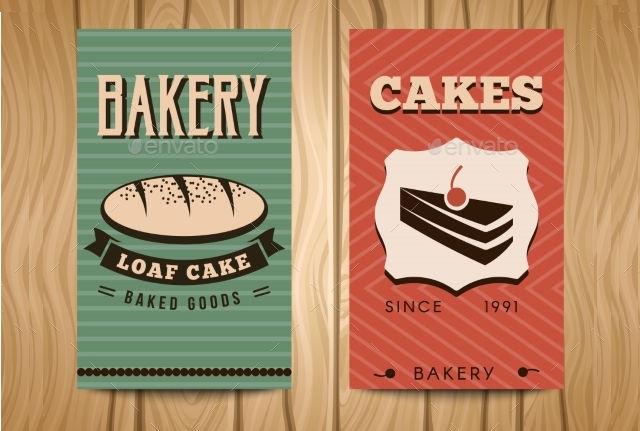 bakery visiting card