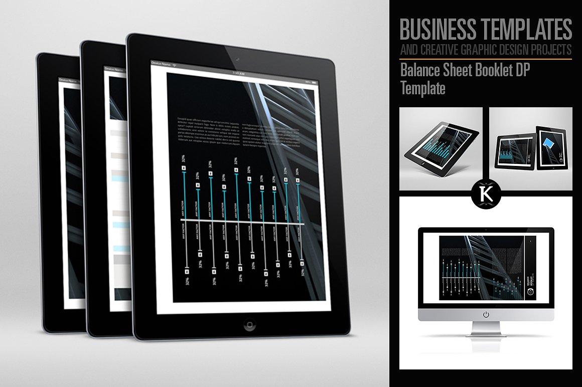 balance sheet booklet