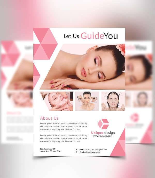 18  spa flyer designs