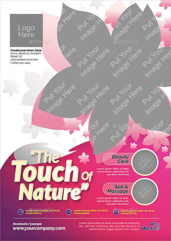 Beauty & Health Flyer