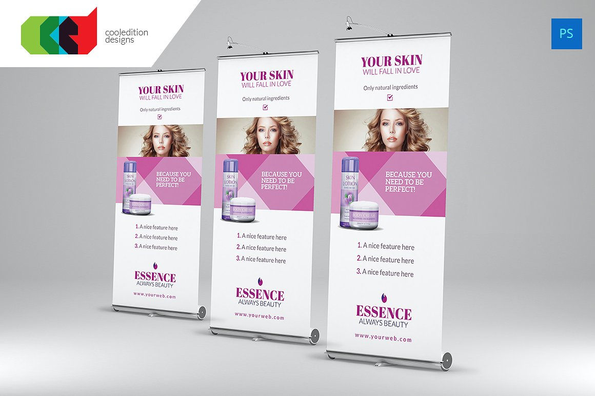 Beauty Product Banner