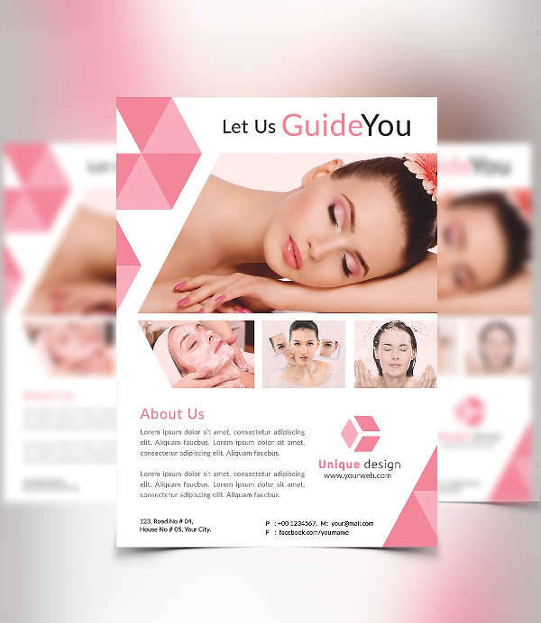 12 + Cosmetic Flyer Designs - Word, PSD, AI, EPS Vector