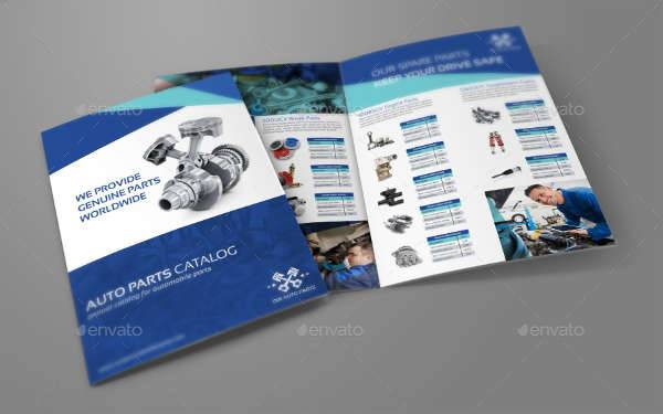 Bifold Business Catalog Template