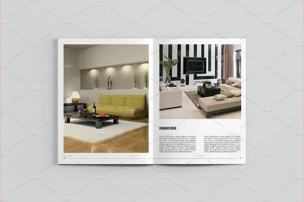 bifold interior catalog design