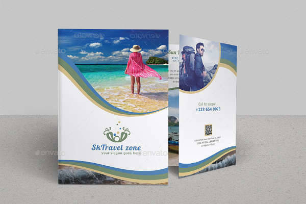Bifold Travel Tourism Brochure