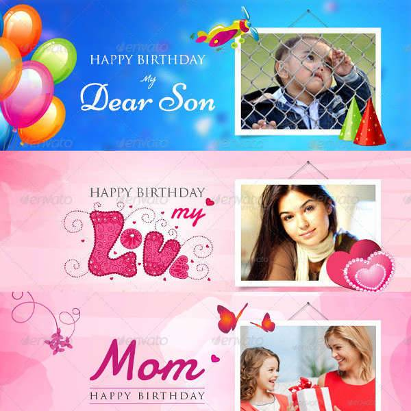 Birthday Facebook Timeline Cover Banner